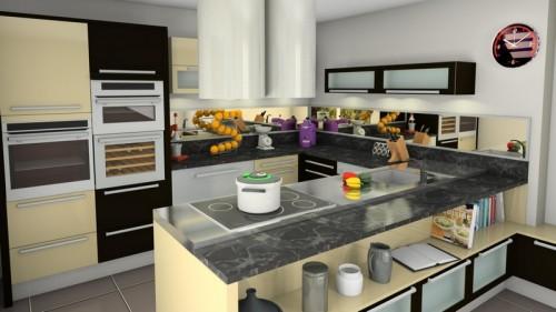 Grafický program pro koncepci kuchyní a koupelen, zdroj: kitchendraw.com