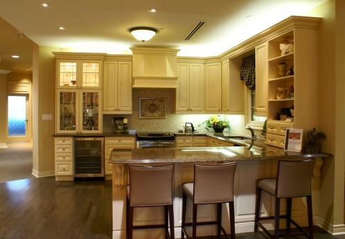 Kuchyňský kout součástí obývacího pokoje, zdroj: shutterstock.com