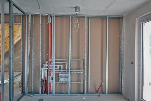 Odhlučnění stěny pomocí vzduchové mezery, zdroj: shutterstock.com