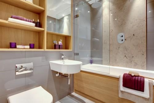 Úložný prostor v koupelně, zdroj: shutterstock.com